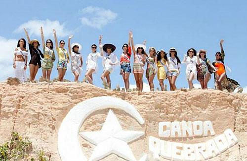 Canoa Quebrada Brasile Miss Brasil em Canoa Quebrada